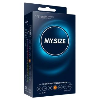MY SIZE kondómy - 57 mm (10 ks)-1