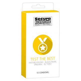 Secura Test the Best - výber kondómov (12ks)-1