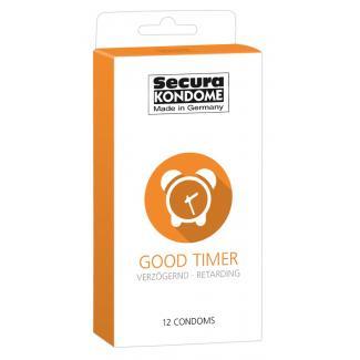 Secura Good Timer - kondómy na oddialenie ejakulácie (12 ks)-1