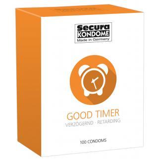 Secura Good Timer - kondómy na oddialenie ejakulácie (100 ks)-1