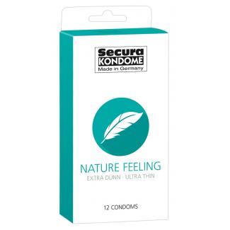 Secura Nature Feeling condom - extra tenké kondómy (12ks)-1