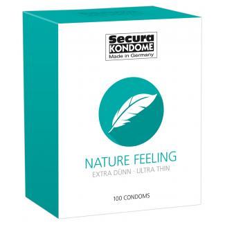 Secura Nature Feeling – extra tenké kondómy (100ks)-1