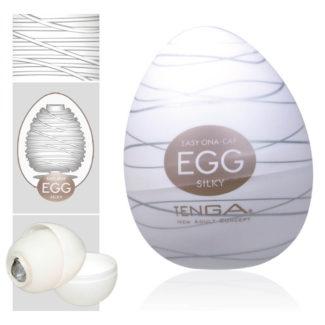 TENGA Egg Silky vajíčko na orgazmus (masturbátor)-1