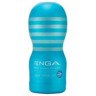 TENGA Deep Throat cool - hlboké hrdlo (mäkké)-1