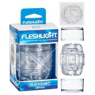 Fleshlight Quickshot Vantage - cestovný masturbátor-1