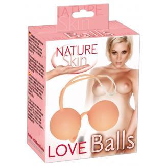 You2Toys Love Balls Nature Skin - venušine guličky telovej farby-1