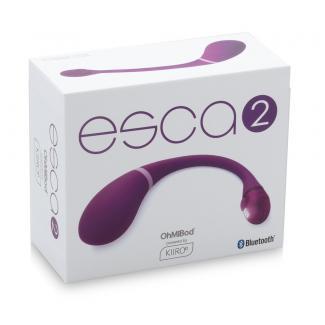 Kiiro Ohmibod Esca 2 - nabíjacie smart vibračné vajíčko (fialové)-1