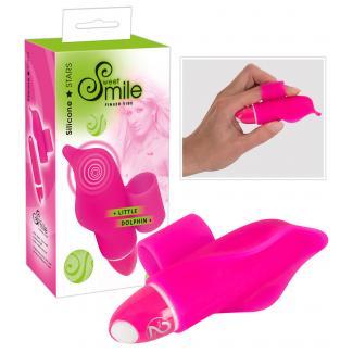 SMILE Little Dolphin - prstový vibrátor (fialový)-1