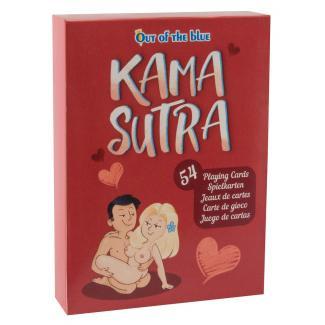 Kama Sutra - francúzske karty s vtipnými sexuálnymi polohami (54 ks)-1