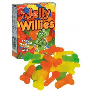 Spencer&Fleetwood Jelly Willies - gumové cukríky v tvare penisu (150g)-1