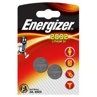 Gombíkové batérie Energizer CR2032 (2ks)-1