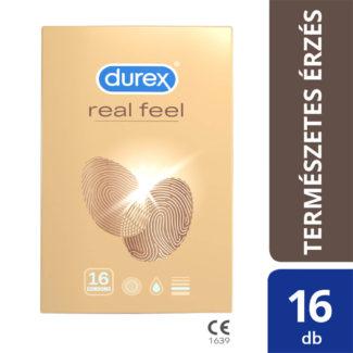 Durex Real Feel – bezlatexové kondómy (16ks)-1