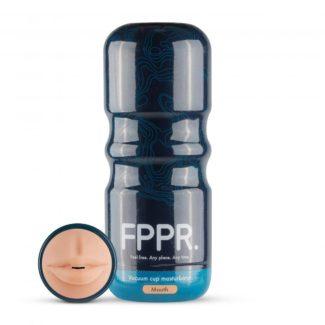 FPPR. Mokka - masturbátor - realistické ústa (telová farba)-1