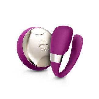 LELO Tiani 3dielny párový vibrátor (fialový)-1
