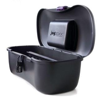 JOYBOXXX – hygienický skladovací box (čierny)-1