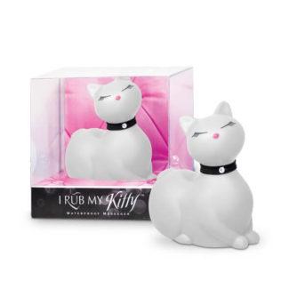 I Rub My Kitty - pradúca mačička - vibrátor na klitoris (biely)-1