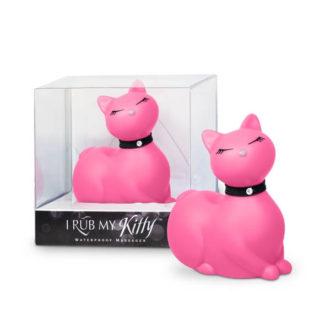 I Rub My Kitty - pradúca mačička - vibrátor na klitoris (ružový)-1