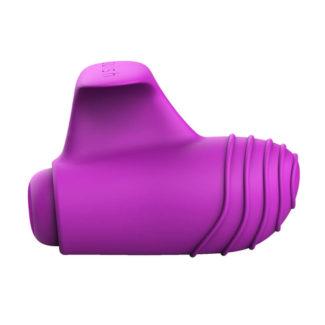 B SWISH Basics - silikónový prstový vibrátor (fialový)-1