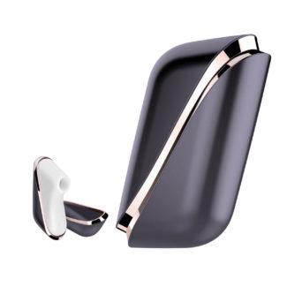 Satisfyer Pro Traveler - nabíjací cestovný stimulátor na klitoris (čierno-biely)-1