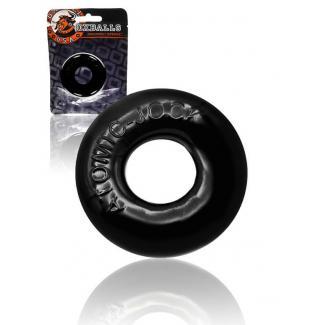 OXBALLS Donut 2 - extra silný krúžok na penis (čierny)-1