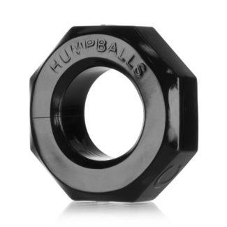 OXBALLS Humpballs - extra silný krúžok na penis (čierny)-1