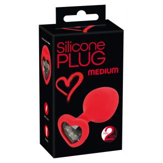 You2Toys Plug Large – análny kolík – červený – medium -1